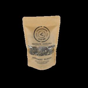 herbata sypana w opakowaniu 100g zielona jasmin